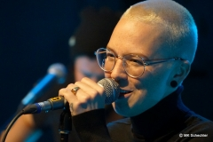Stefanie Heinzmann in Aktion