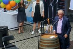 Stuttgarts OB Kuhn eröffnet das 42. Stuttgarter Weindorf