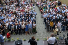 Das Württemberger Lied wird stehend gesungen