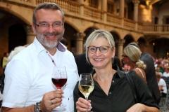 Unsere Redaktion bei der Weindorferöffnung
