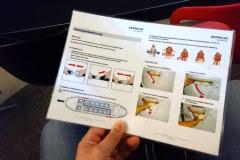 Imagefilm, Einstimmung und Einweisung für den Flug. Vor allem beim Einsteigen gibt es Besonderheiten