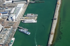Kleine Hafenrundfahrt mit dem Luftschiff