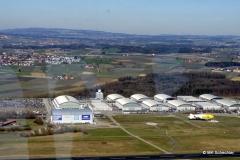 Das Zeppelin Flugfeld mit Hangar