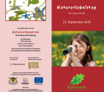 10. Naturerlebnistag am Naturparkzentrum am 23. September
