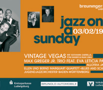 """Jazz on a Sunday"" am 3.2.2019 im Breuningerland Ludwigsburg"