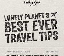 Buchtipp – LONELY PLANET´S BEST EVER TRAVEL TIPS