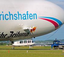 Unterwegs mit dem Zeppelin