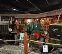 Mit dem Traktormuseum öffnet ein neues Technik-Museum am Bodensee