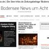 Unsere tägliche Zeitungsbeilage 'Bodensee News um Acht'