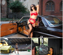 Berlin Tag und Nacht: Miss Tuning Kalender-Shooting lief auf Hochtouren