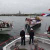 Schiffe bilden erstmals Stern im Untersee