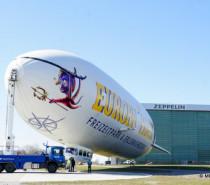 Die Weißen Riesen fliegen wieder: Highlights in der jetzt gestarteten Zeppelin Flugsaison 2019