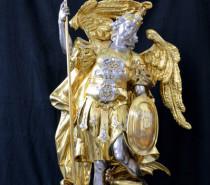 Michaelistag am 29. September: Die Statue des Erzengels Michael in Salem