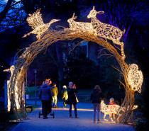 Magischer Lichter-Park im Hofgarten Innsbruck