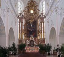 3. April: Gedenktag des heiligen Georg, Patron der Klosterkirche Ochsenhausen