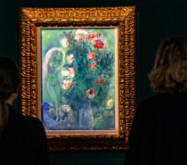 """""""Marc Chagall – Paradiesische Gärten"""": Lindauer Kunstmuseum zeigt Sonderausstellung mit Spätwerk des Malerpoeten"""