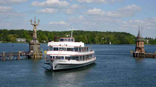 Bodensee-Schiffsbetriebe starten an Christi Himmelfahrt in die Saison