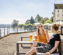 Biergärten in Konstanz: GenussErfrischung direkt am Bodensee