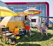 Oldtimer Camping Motorrad Abenteuer im Erwin Hymer Museum im 14. / 15. August