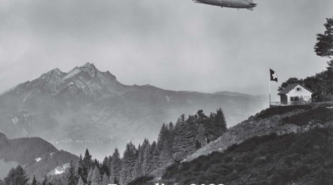Mit dem Zeppelin-Kalender 2022 die Schönheiten der Schweiz erleben
