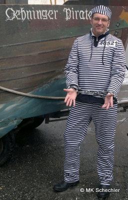 Gefangener bei den Untersee-Piraten Öhningen