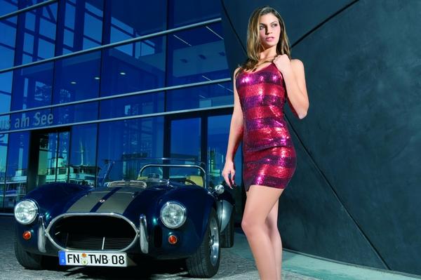 Titelmotiv 2008 - MISS TUNING Silvia Hauten Foto: TUNING WORLD BODENSEE