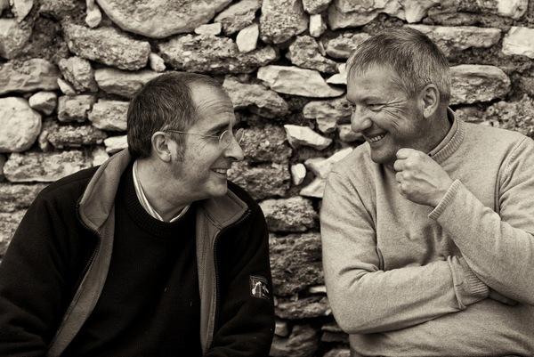 Jean Natoli und Peter Riegel